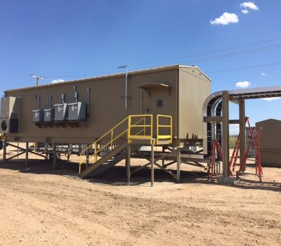 Installed Power Distribution Center for VFD and MCCs